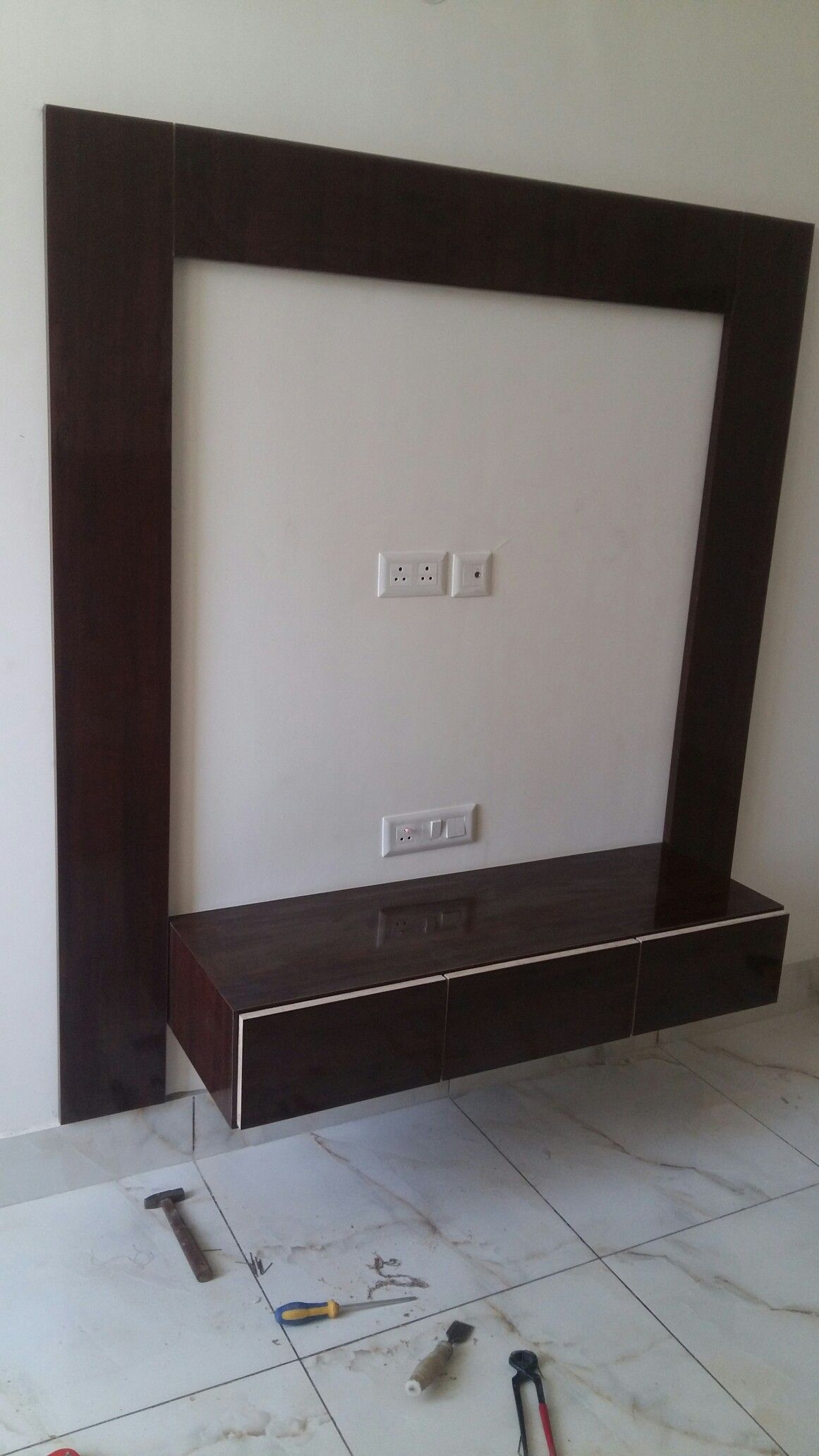 Latest Tv Unit Design: It's So Simple And Low Price And Beautiful Led Panel
