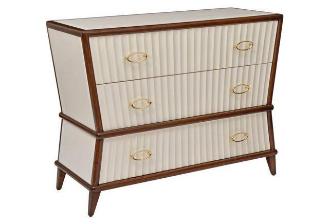 Corset Dresser, Ivory