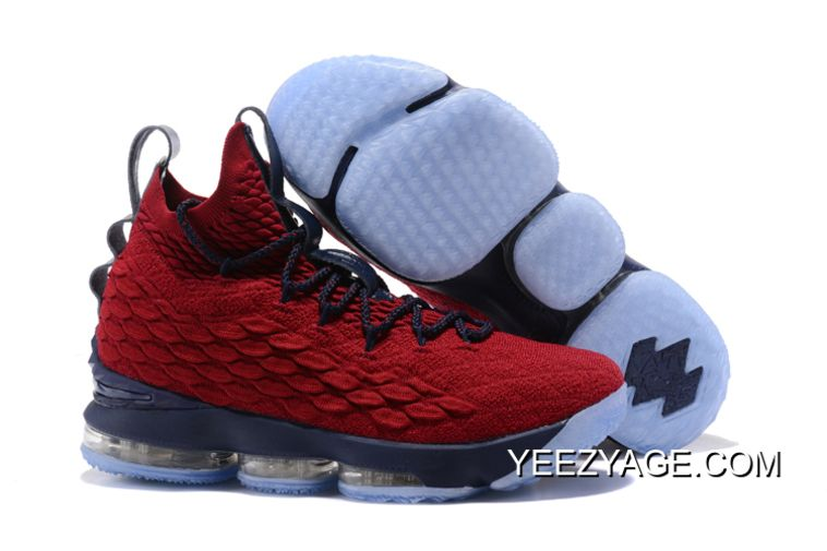 brand new cfa2c a9aa6 2018 New Nike LeBron XV EP 15 Wine Red Royal Blue James Mens Basketball  Shoes,Cheap Nike Lebron 15 , Newest Nike Lebron 15 , Discount Nike Lebron 15  ...