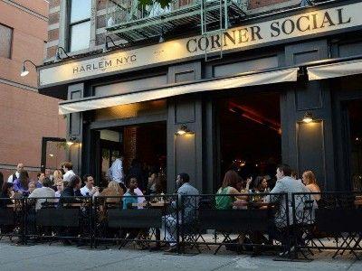 Corner Social Sidewalk Cafe Pub Design Lenox