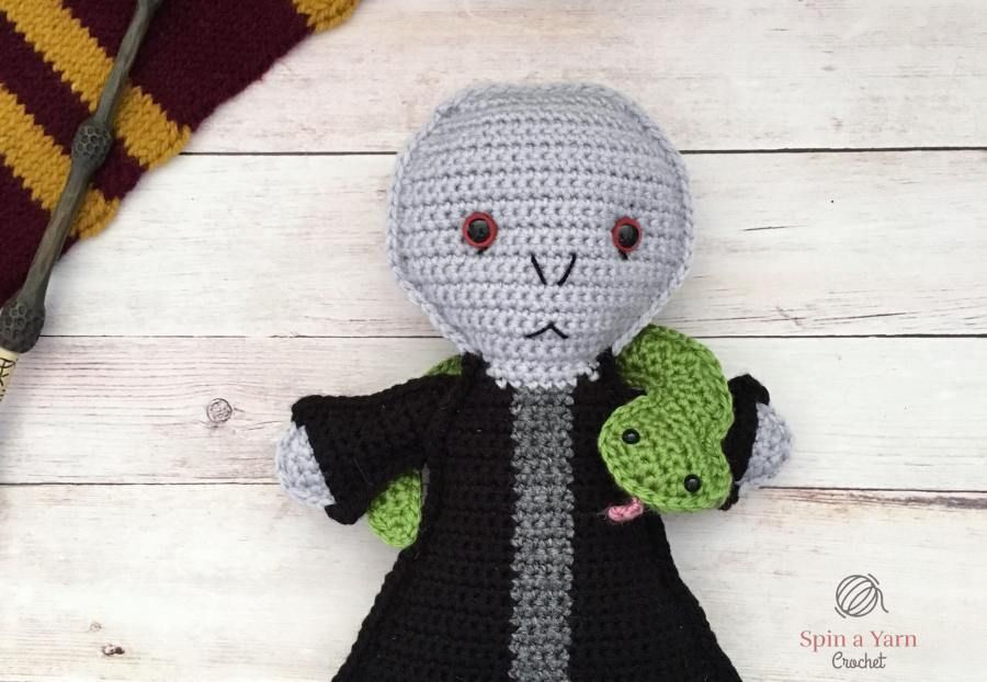 Lord Voldemort Free Crochet Pattern #grinchscarfcrochetpatternfree Elephant Amigurumi Free Crochet Pattern • Spin a Yarn Crochet #crochetelephantpattern