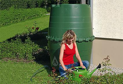 350 Gallon Superbarrel Rain Barrel Above Ground Cistern Available