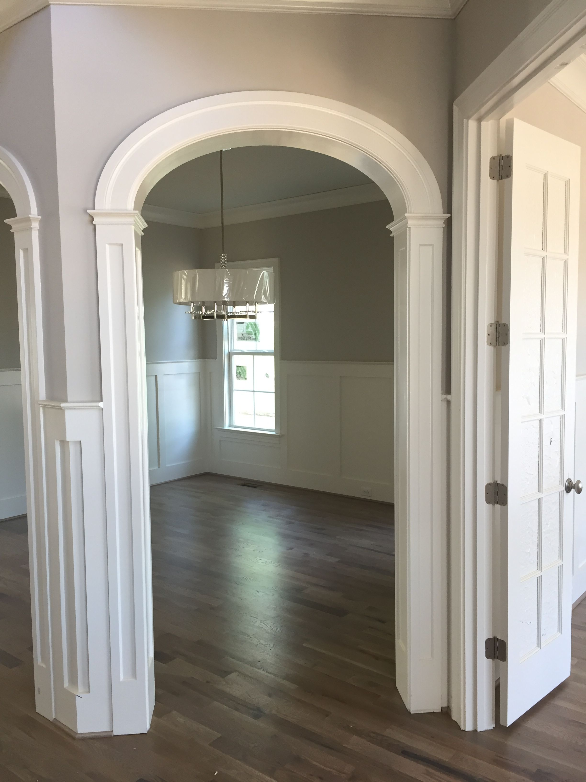 Arched Doorway Trim details. Add trim to arched openings ...