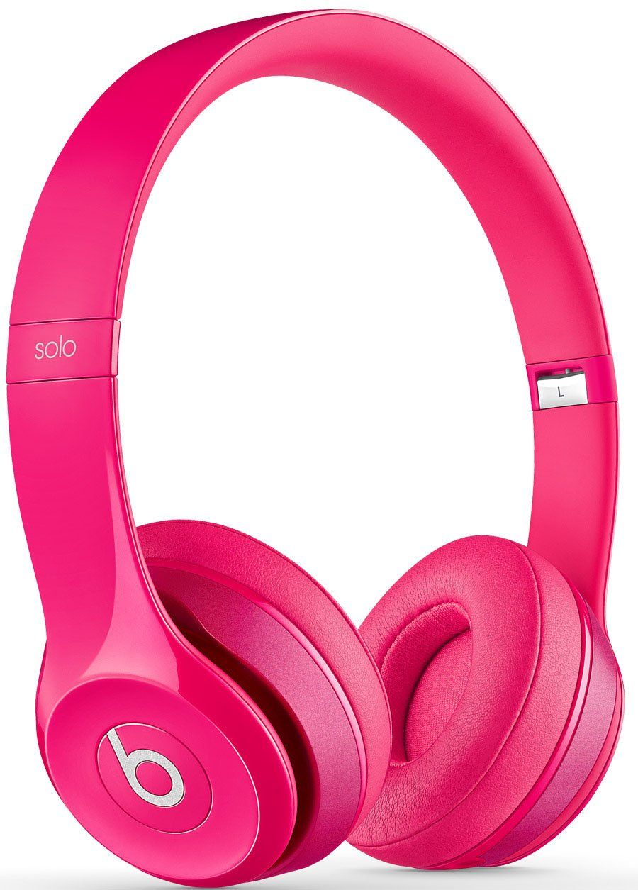 07f39c42aba Amazon.com: Beats by Dr. Dre Solo 2.0 On-Ear Headphones (Pink): Electronics  wireless pink