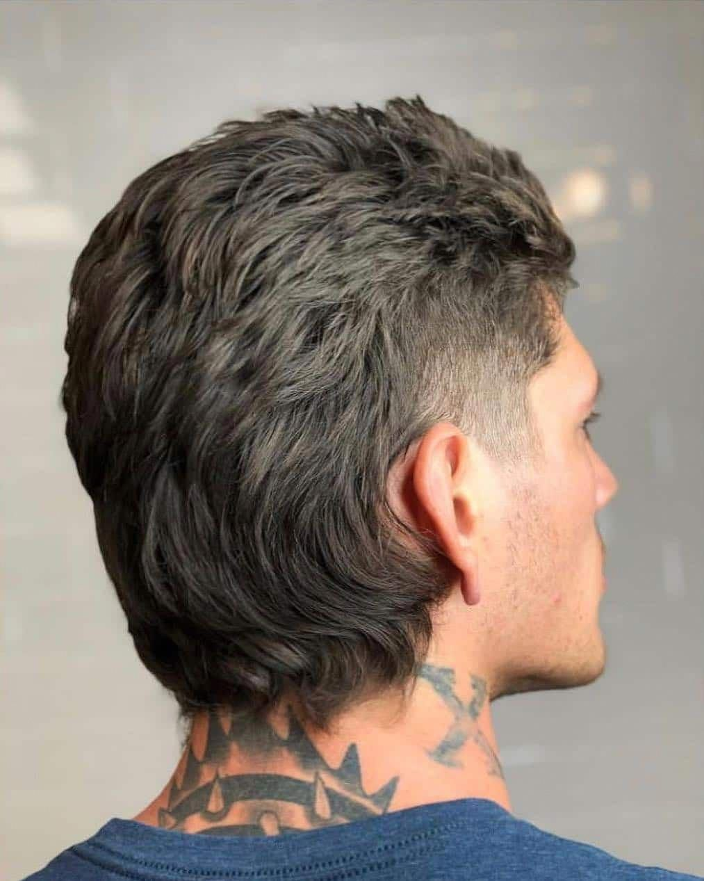 25 Mullet Haircuts That Are Awesome Super Cool Modern For 2020 Mullet Haircut Mohawk Hairstyles Men Mullet Hairstyle