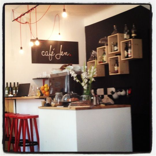 Café Jen in Praha