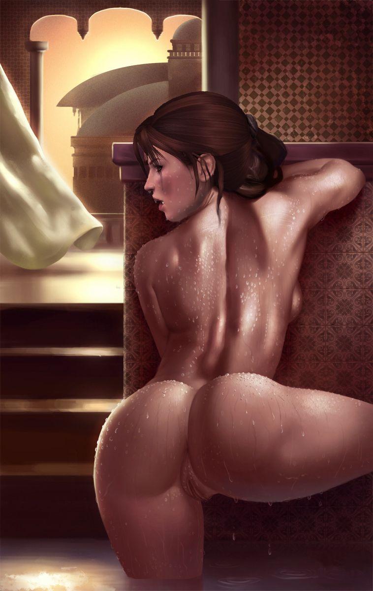 croft nude lara Deviantart