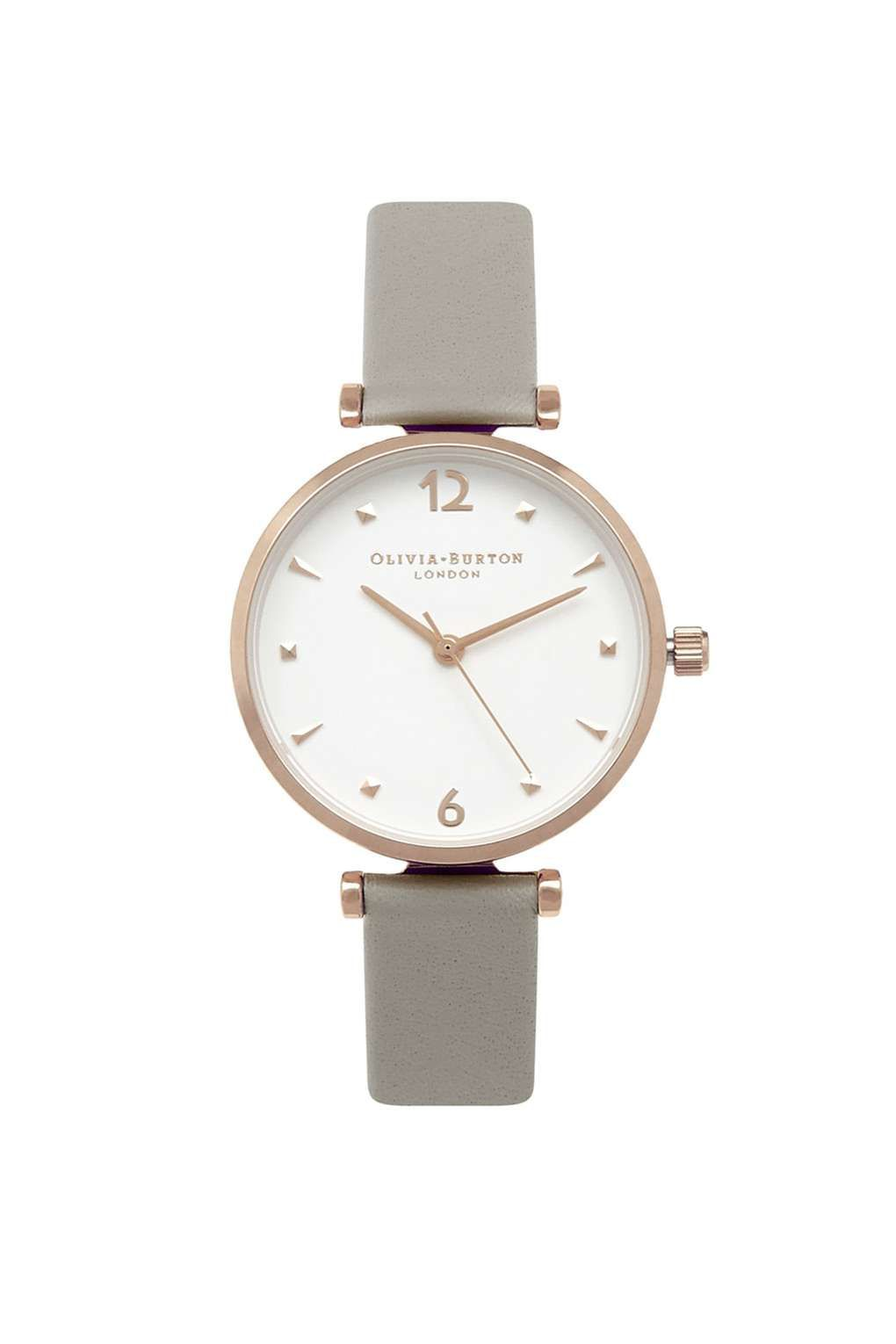 ae49765fabef0   Grey and Gold Watch by Olivia Burton - Watches - Bags   Accessories…