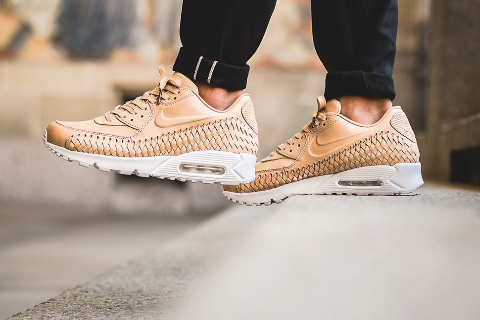 Nike Air Max 90 Woven: On Foot Preview | Sneakers nike, Nike