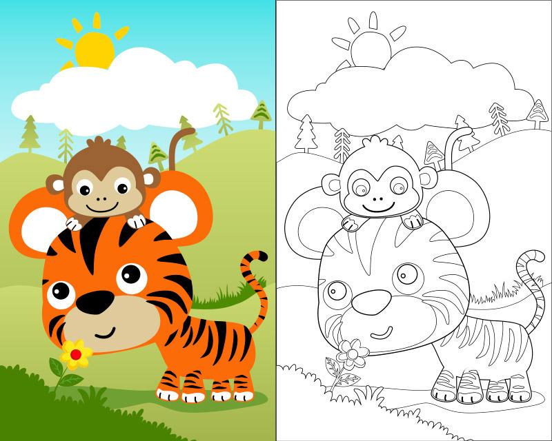 Pin En Dibujos Infantiles Para Colorear Kids Coloring