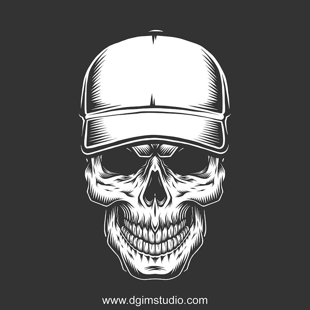 Skull Creator Skull Illustration Vintage Skull Vintage Tshirt