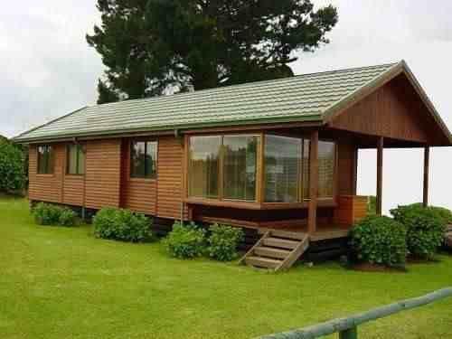 Planos casas de madera prefabricadas caba as rusticas fazendas pinterest casa de madera - Planos de casas de campo rusticas ...