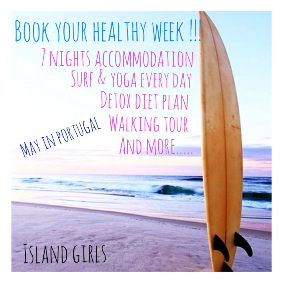 Book your healthy week!!