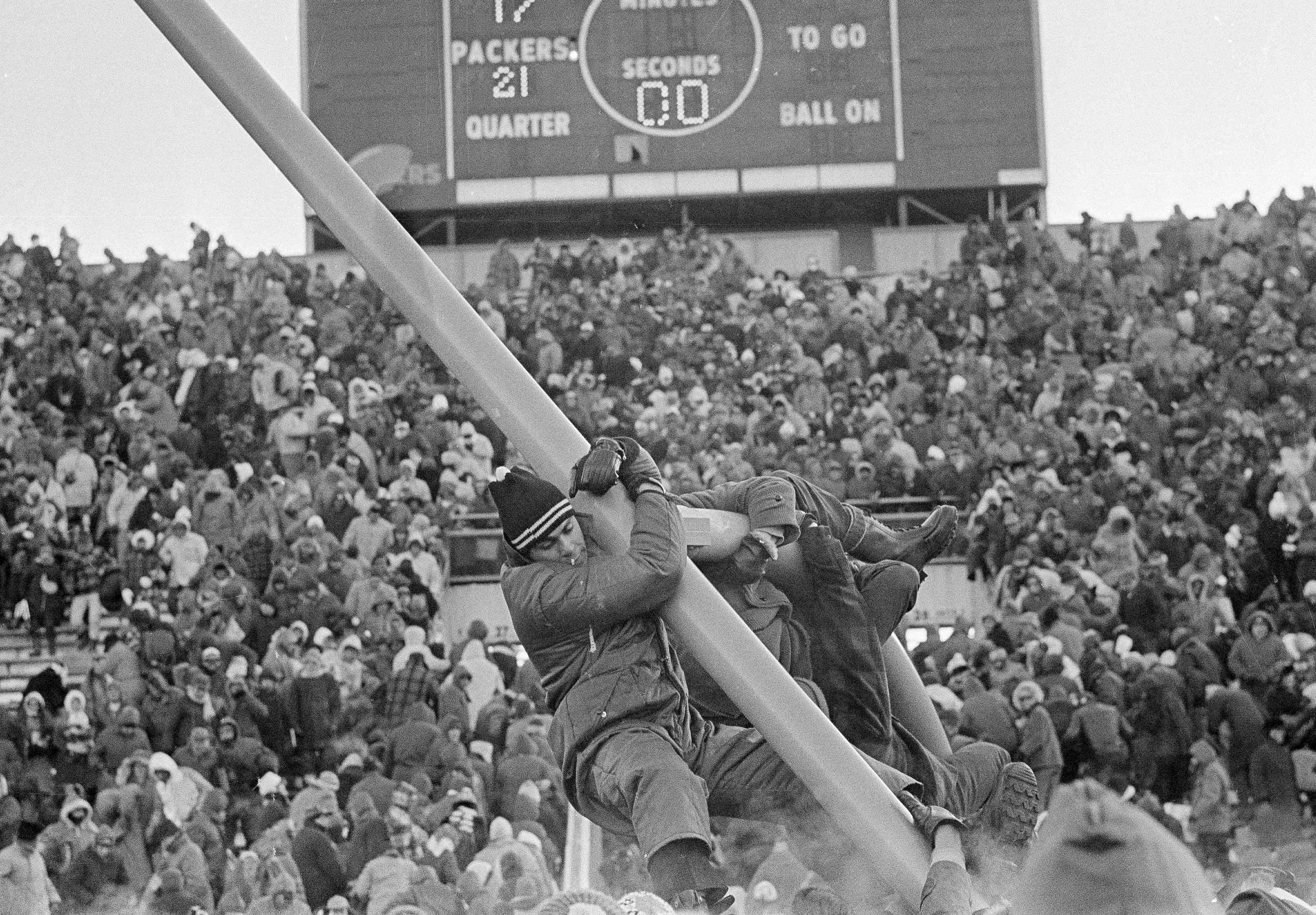 packers fans ice bowl