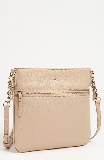 Kate Spade New York Cobble Hill Ellen Leather Crossbody Bag Affogato