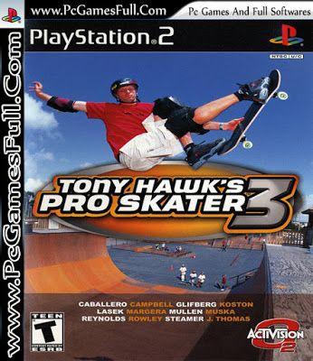 Tony Hawk S Pro Skater Game Free Download Full Version For Pc Tony Hawk S Pro Skater 3 Is A Skateboard With Images Tony Hawk Pro Skater Pro Skaters Tony Hawk Pro Skater 3