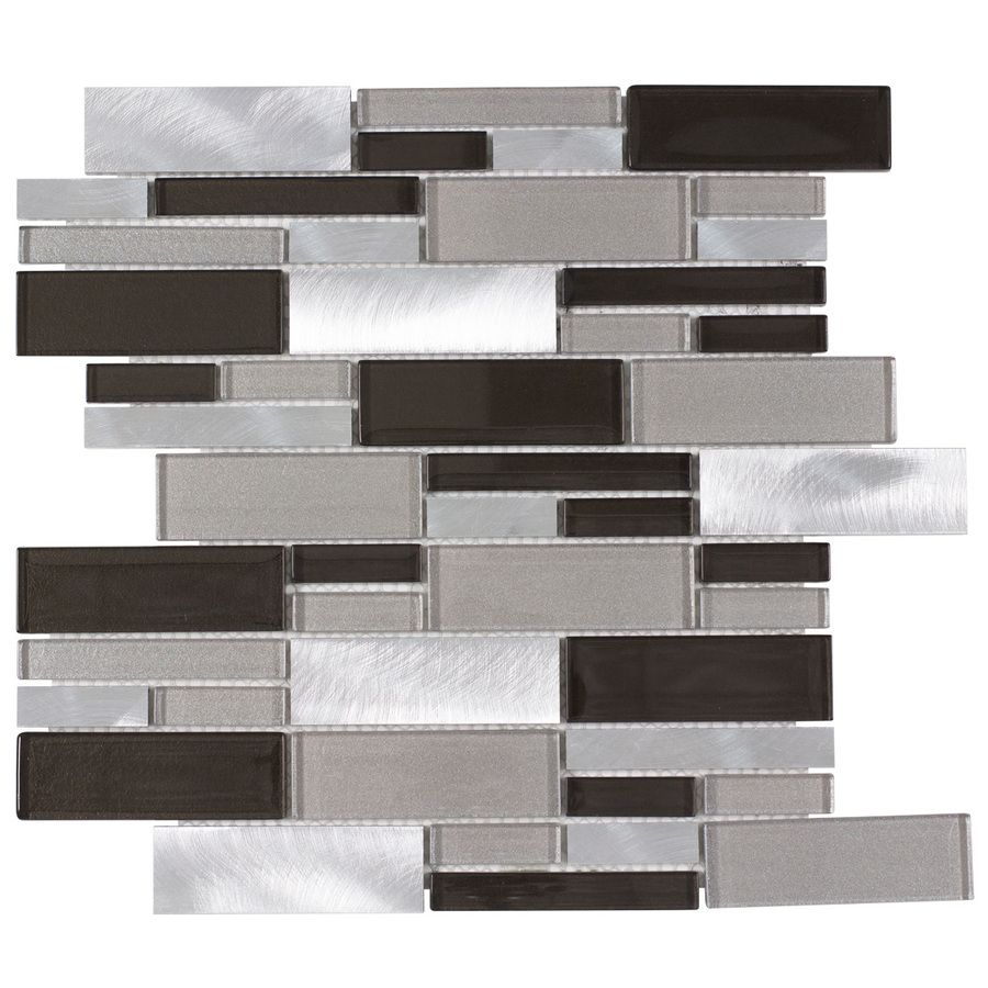 - Shop Elida Ceramica Sahara Mixed Material (Glass And Metal) Mosaic