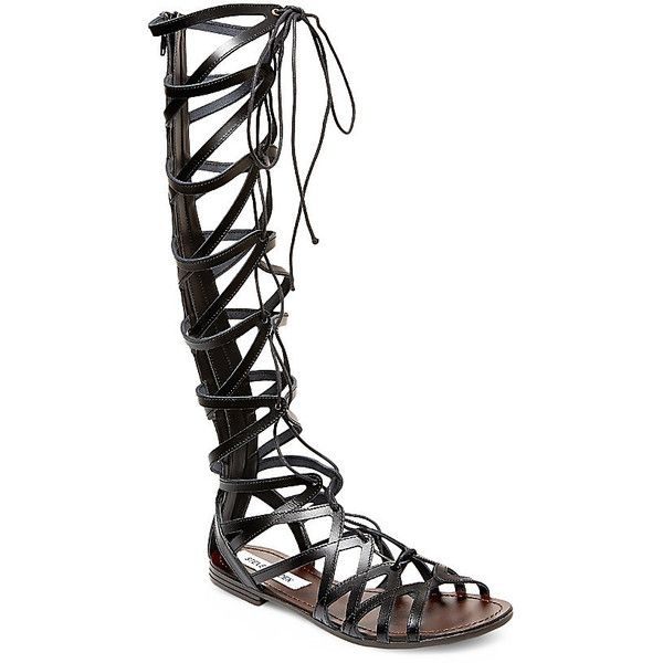 Steve Madden Women's Hercules Sandals ($100) ❤ liked on Polyvore featuring  shoes, sandals