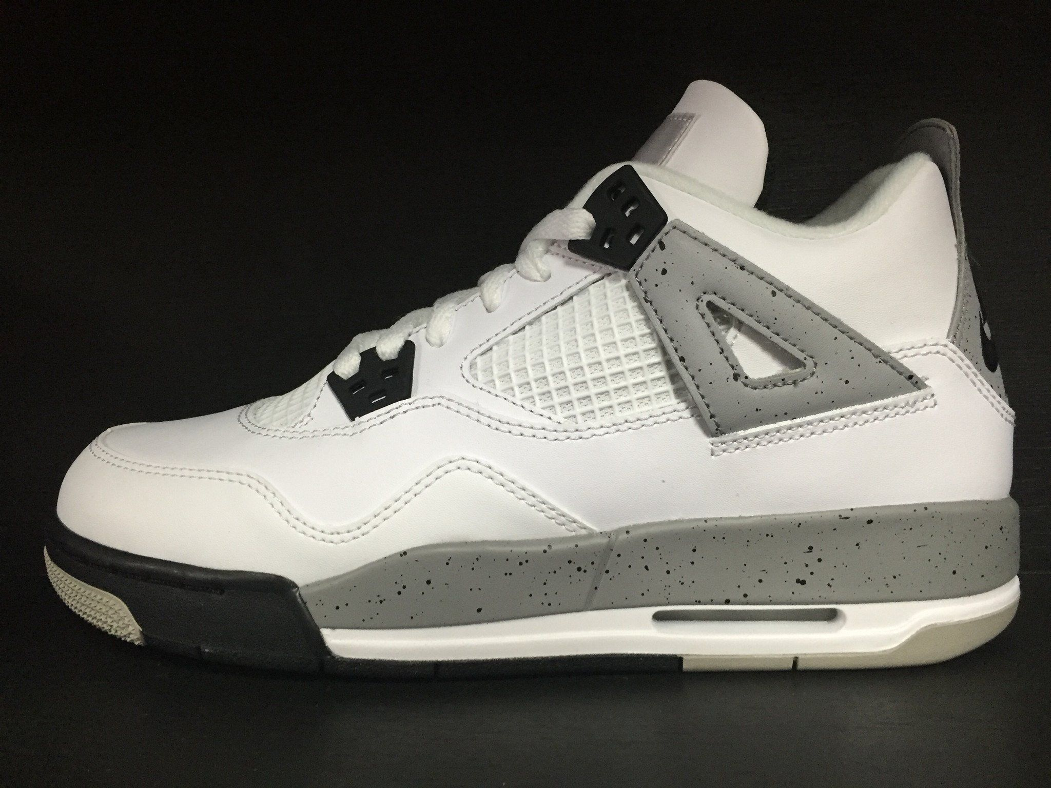 856e3c47a187ce Air Jordan 4 Retro OG  White Cement  GS