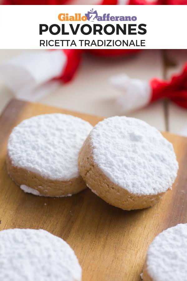 Ricette Di Biscotti Per Natale.Polvorones