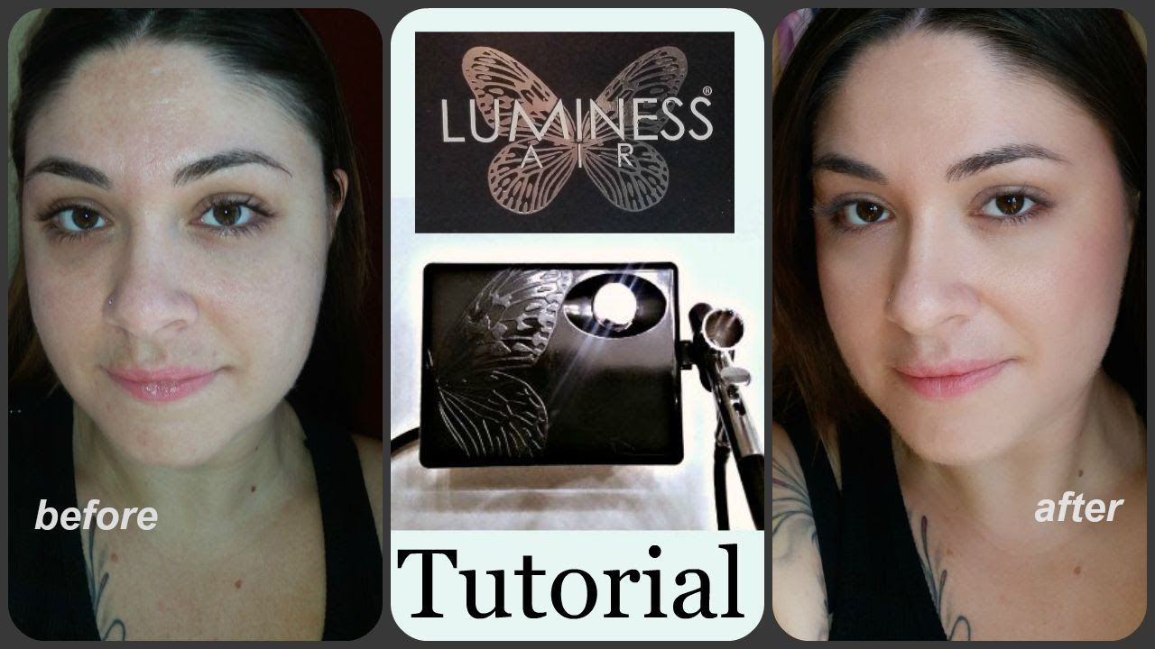 luminess airbrush makeup system review tutorial health. Black Bedroom Furniture Sets. Home Design Ideas
