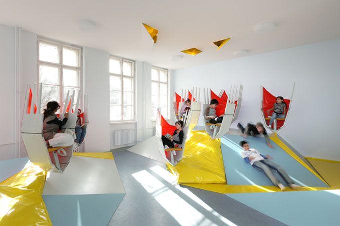 erika-mann elementary school ii - berlin | school, playground and