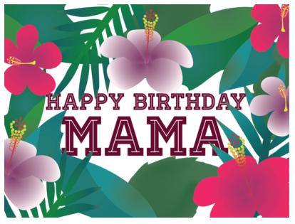 Happy Birthday Mama Ji | Mama Norma | Happy birthday mama, Happy