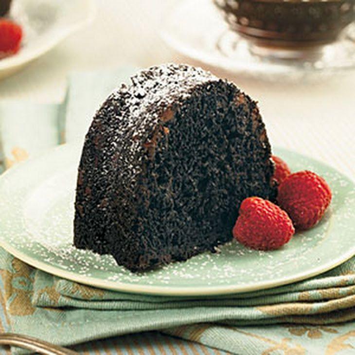 Doublechocolate bundt cake recipe chocolate bundt