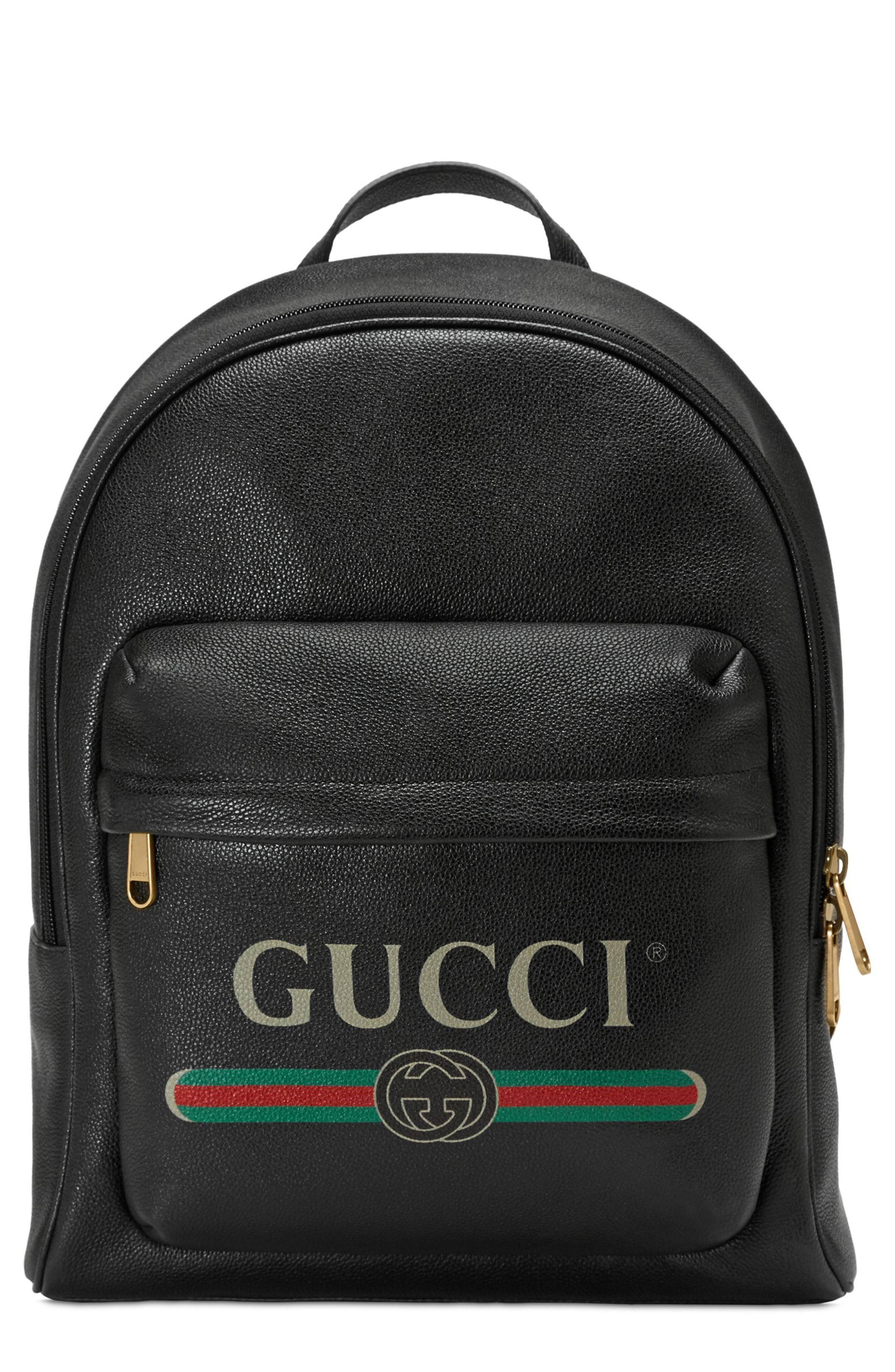 5b9a0c8d102 Gucci Logo Backpack available at  Nordstrom