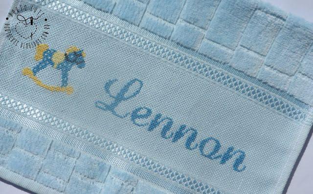 Ponto Cute: Toalhinha Lennon