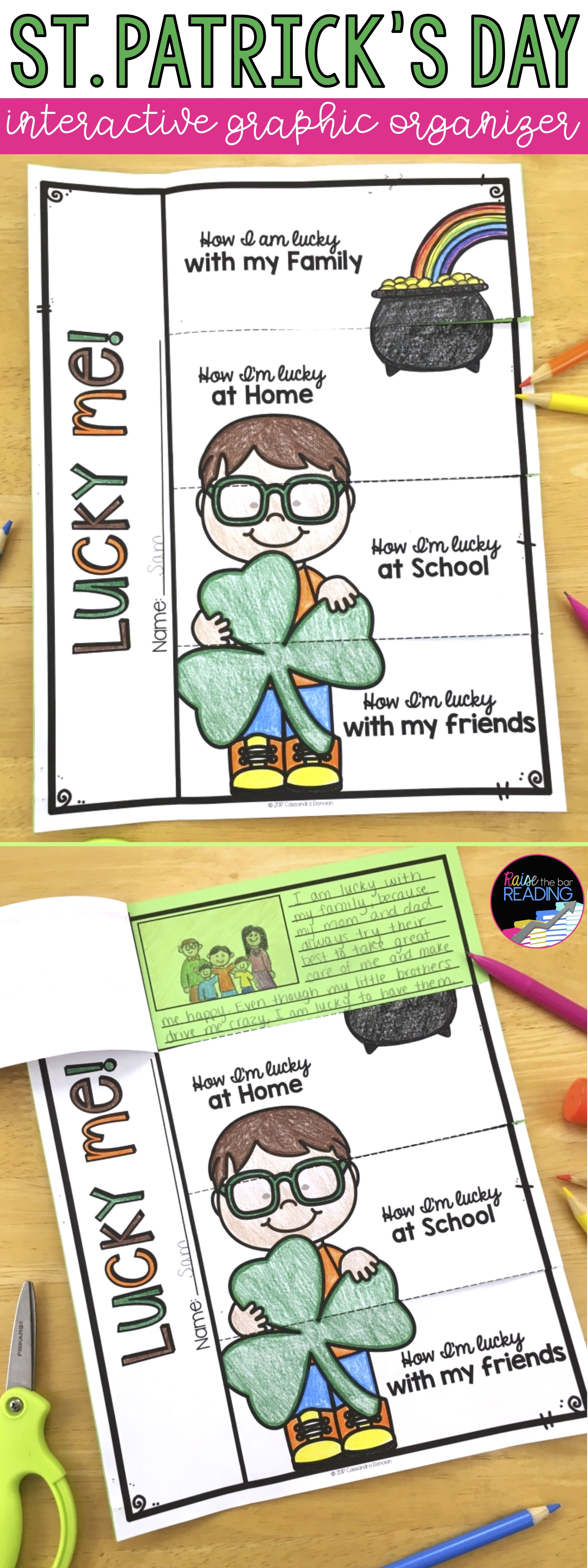 St Patrick S Day Activities And Glyphs St Patrick S Day