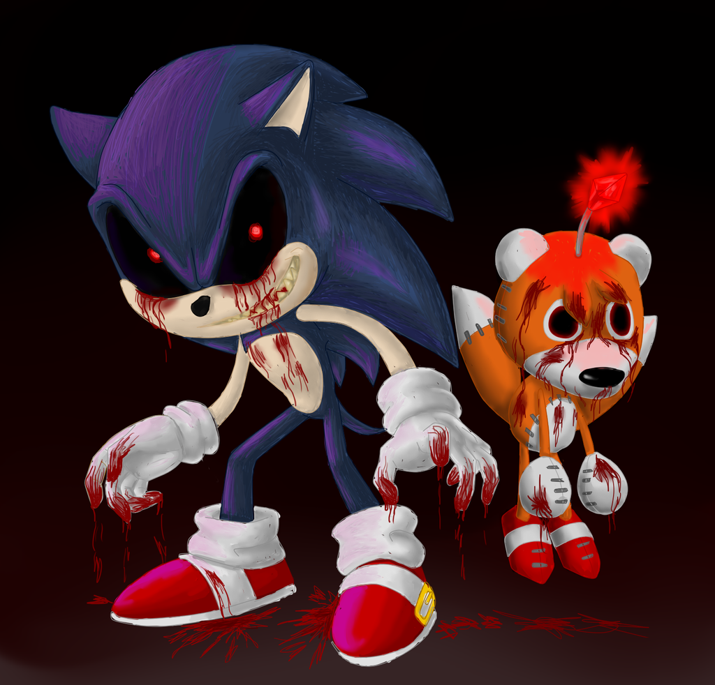 Sonic.exe And Tails Doll BFF's