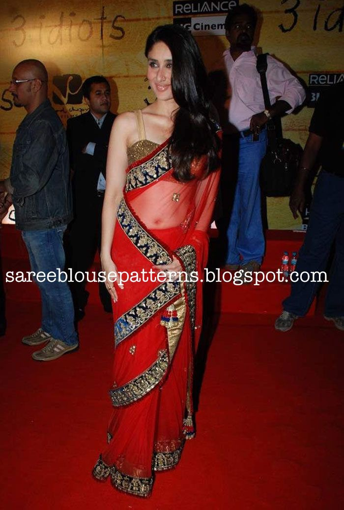 Kareena Kapoor In Manish Malhotra Saree