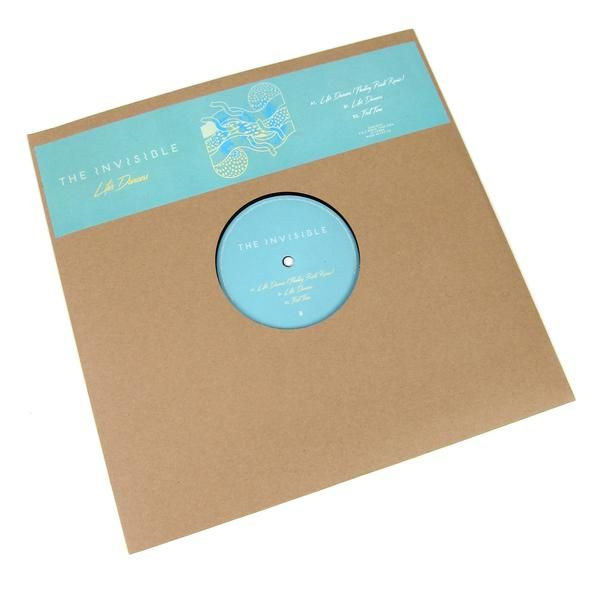 """The Invisible: Life's Dancers (Floating Points Remix) Vinyl 12"""""""