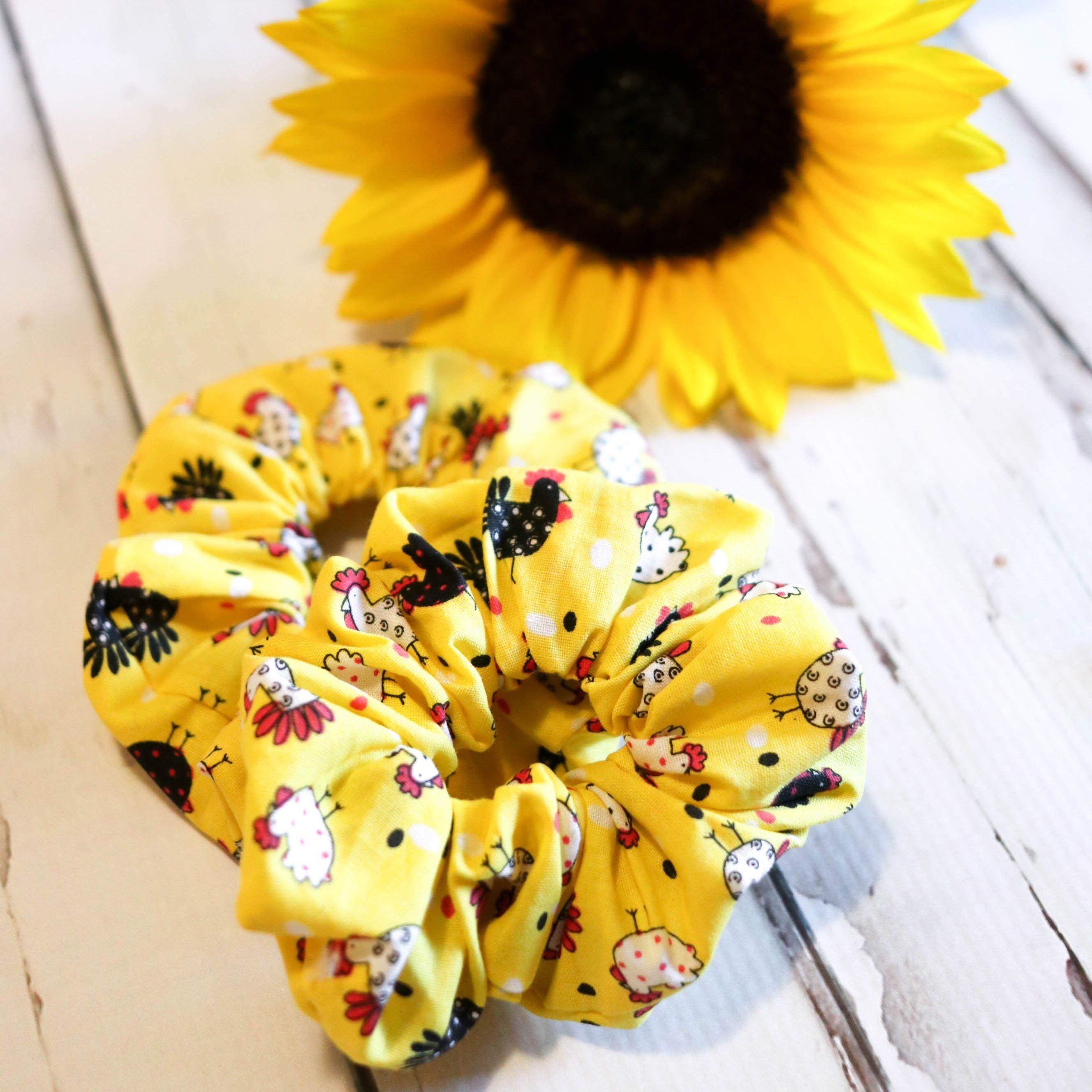 Handmade Large Scrunchie Chickens