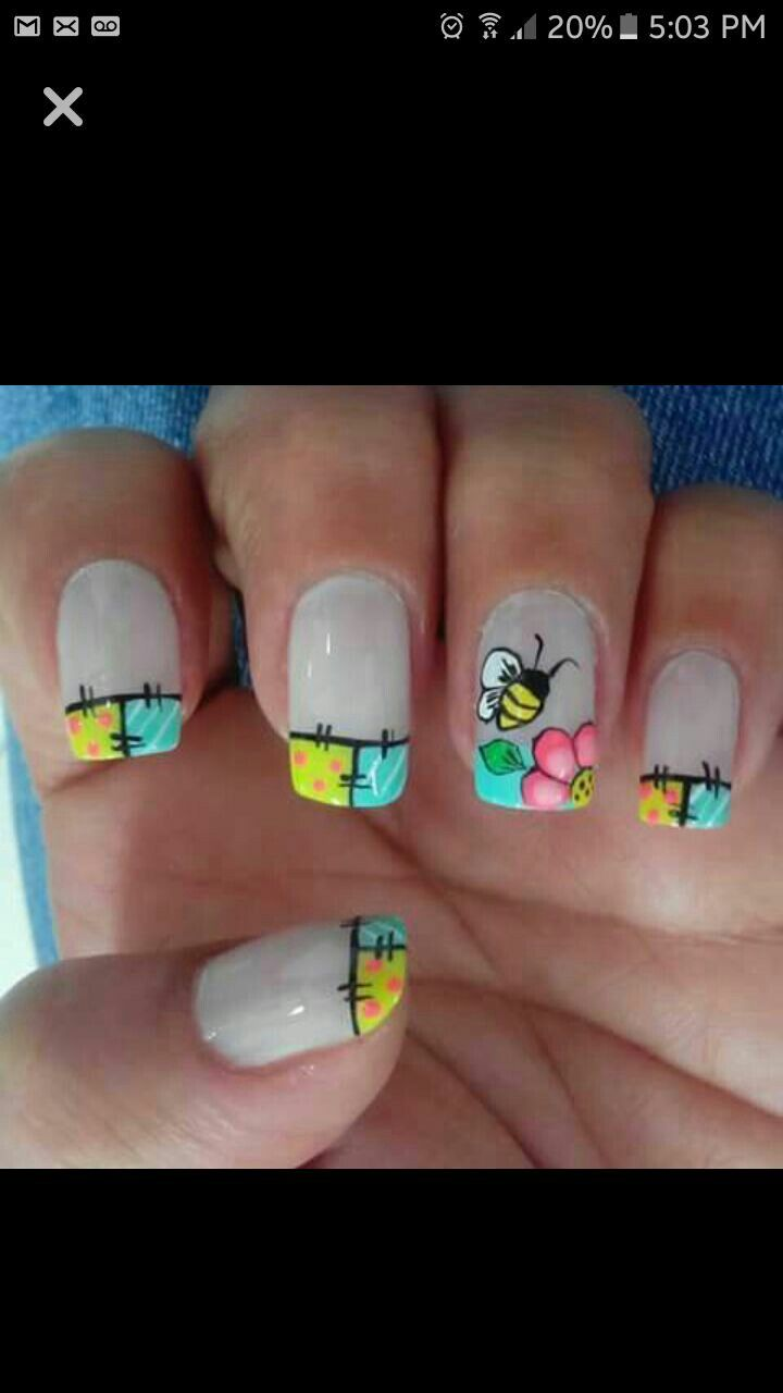 Pin by Derya O. on Nageldesign | Pinterest | Spring nails, Manicure ...