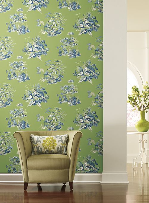 Patten Oriental Scenic from the Ashford Toiles collection.