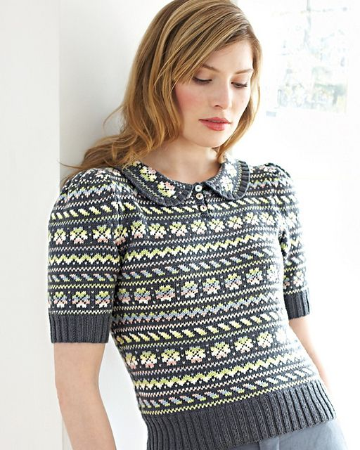 Ravelry: #17 1940's Style Sweater pattern by Debbie Bliss