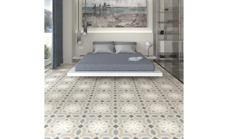 Carrelage Malaga Aspect Carreau Ciment Multicolore Dim 20 X 20 Cm Saint Maclou Furniture Home Decor Home