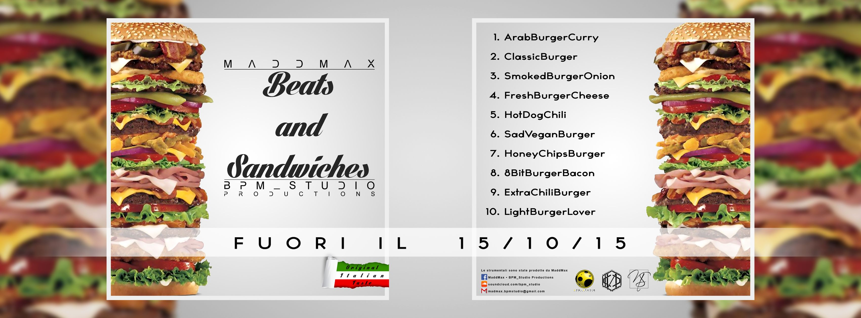 Cover beats tape BEATZ and SANDWICHES (Facebook timeline)
