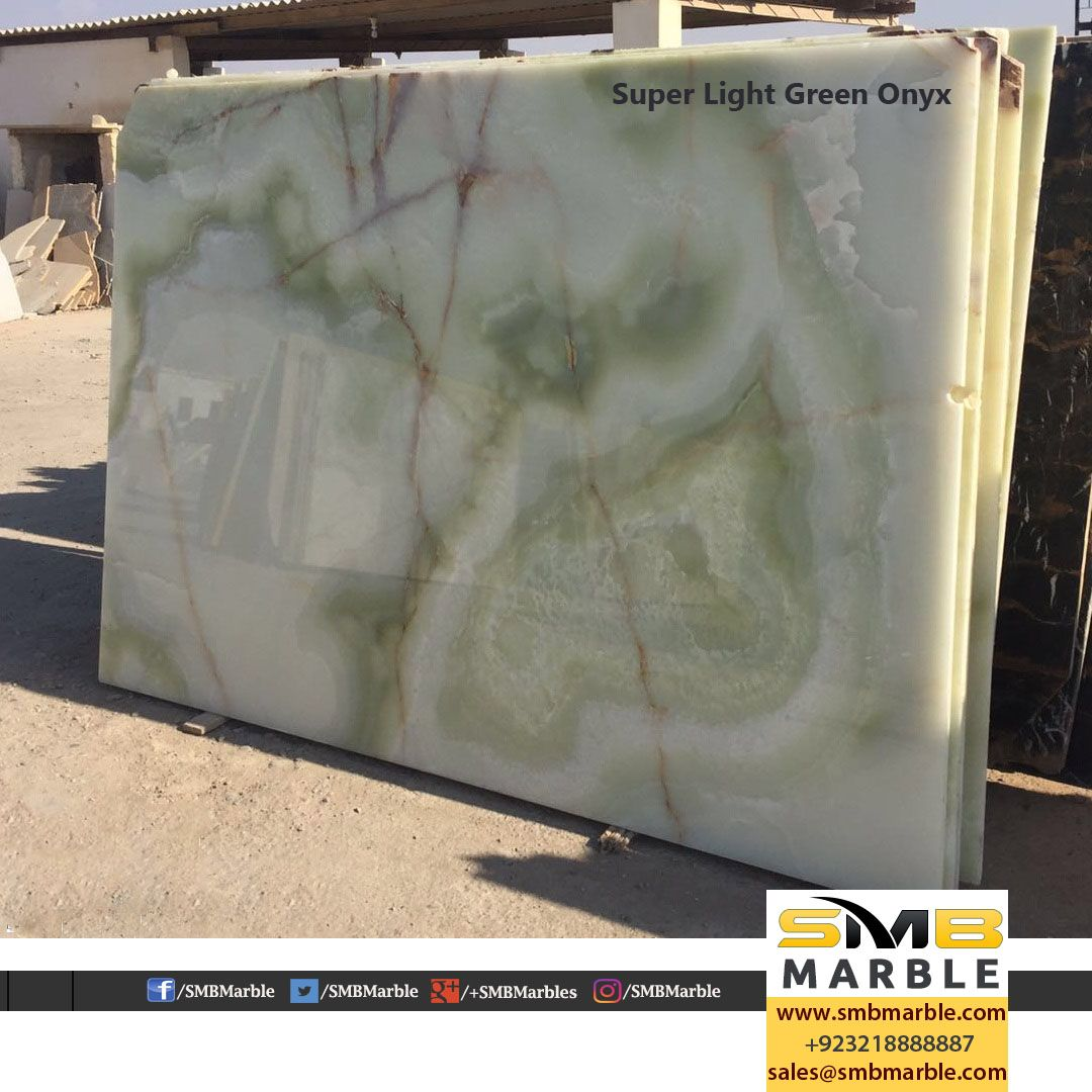 Super Light Green Onyx Available for Importers #Onyx