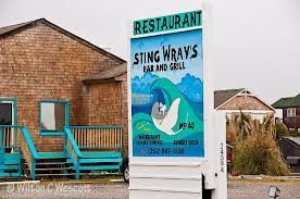 Stingwray's Bar and Grill: Rodanthe NC