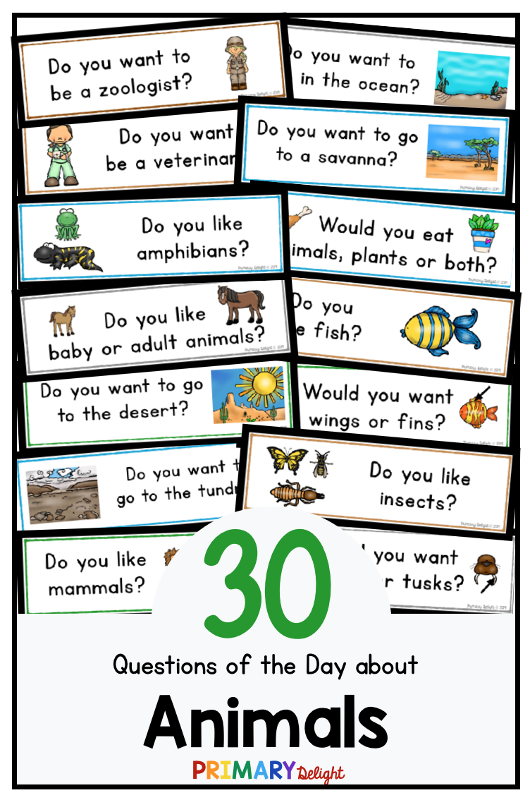 Learning About Animals In Preschool Or Kindergarten Use The Daily Graphing Questions To Connect Sc This Or That Questions Question Of The Day Preschool Graphs