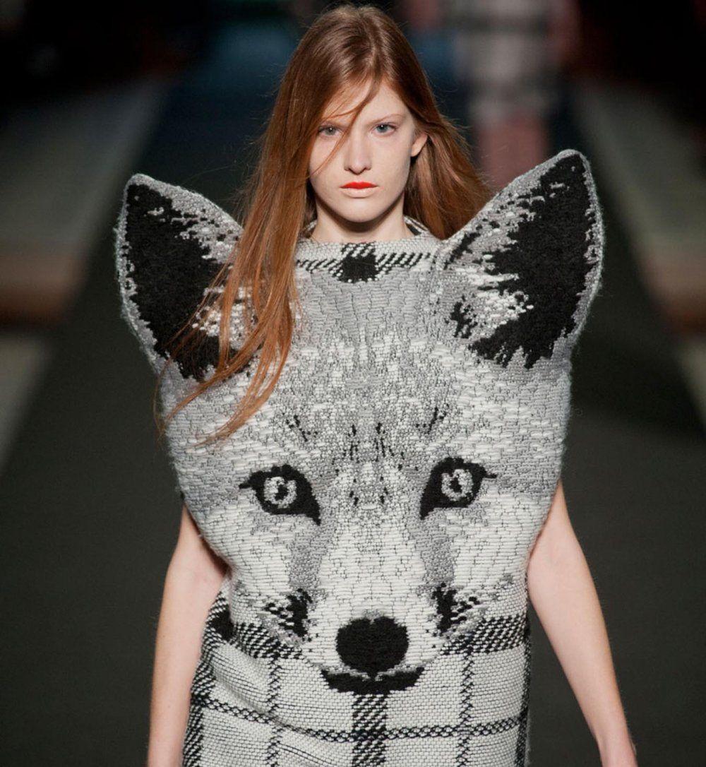 La Foxy Lady de Jean Charles de Castelbajac - Cosmopolitan.fr