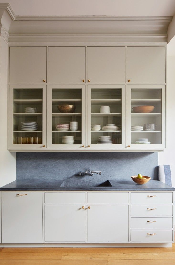 Custom made kitchen cabinets brooklyn - Our Favorite Dark Countertops Cabinets To Ceilingglass Kitchen