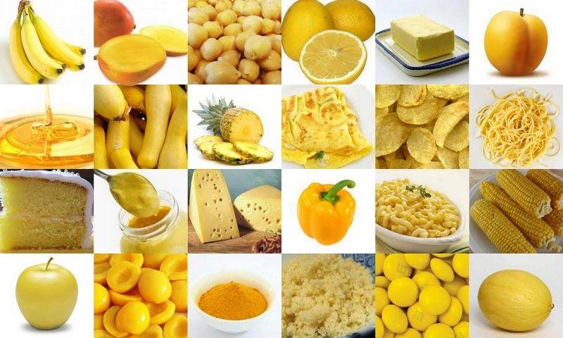 Comida Amarela Chakra Do Plexo Solar Alimentos Alimentos