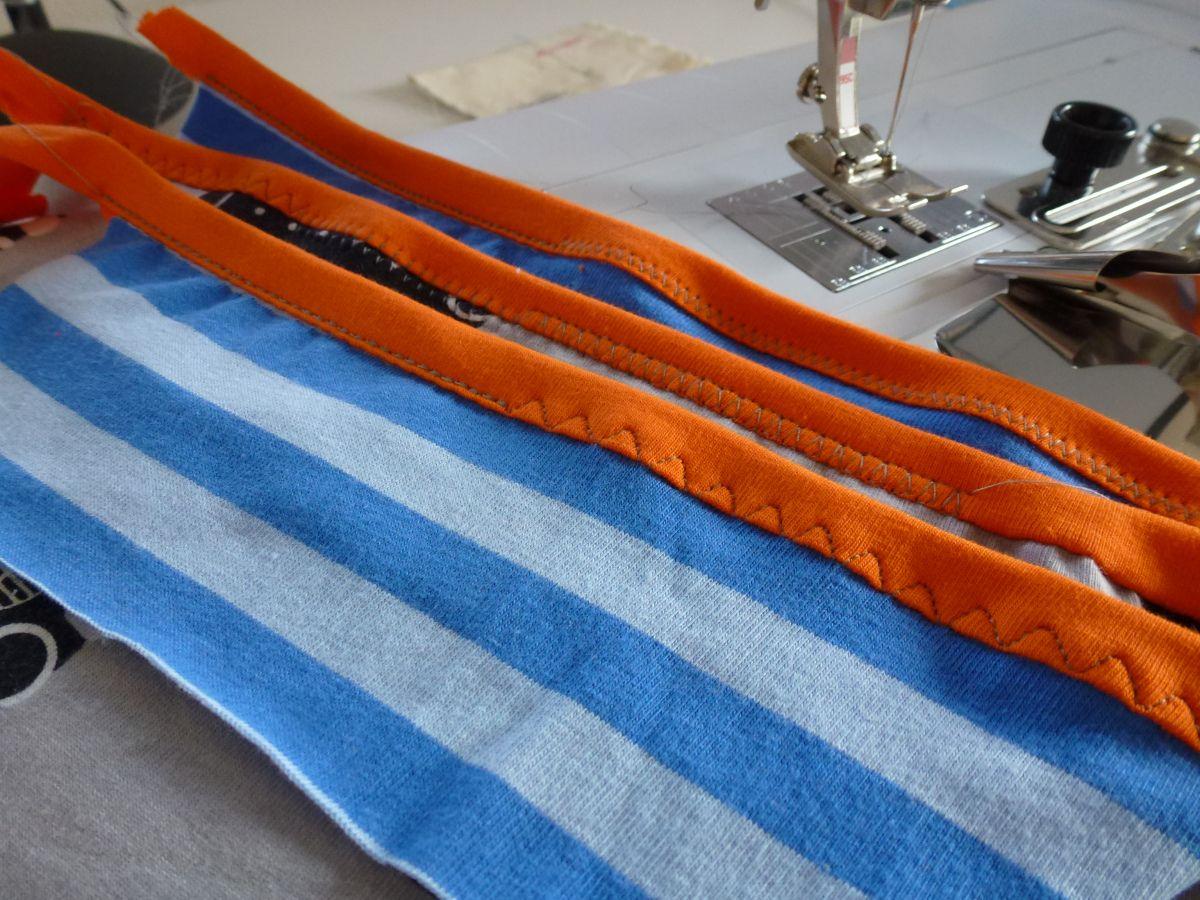 ausschnitte einfassen mit der n hmaschine n hen sewing sewing hacks und sewing tutorials. Black Bedroom Furniture Sets. Home Design Ideas