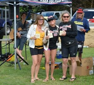 Third place, winners' circle. Age group: 50-54, Women Who Refuse To Act Their Age.