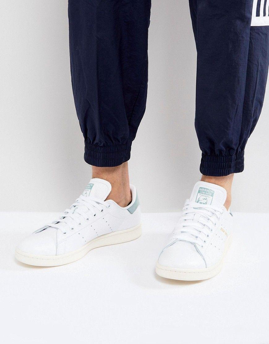 Adidas Stan Smith Scarpe Originali In Bianco Bz0470 Bianco