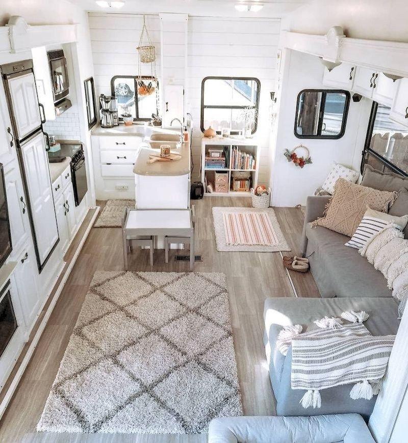 36 Unique RV Camper Remodel Ideas To Inspire - decorhit.com #rvliving